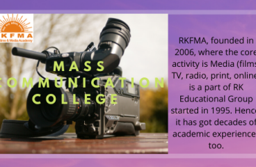 RKFMA | Helping you to Explore Better Career in Mass Communication & Journalism